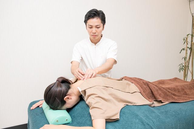 ほとんどの方が初回で体の変化を実感される鍼灸